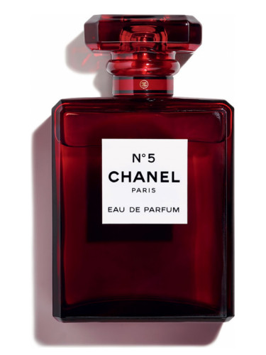 chanel no.5 red
